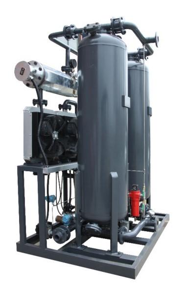 零气耗鼓风加热再生吸附式压缩空气干燥机
